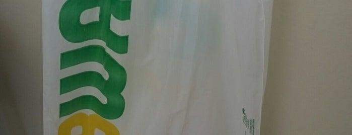 Subway is one of Lugares favoritos de Luccia Giovana.