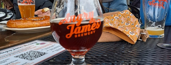 Angry James Brewery is one of Tappin the Rockies...