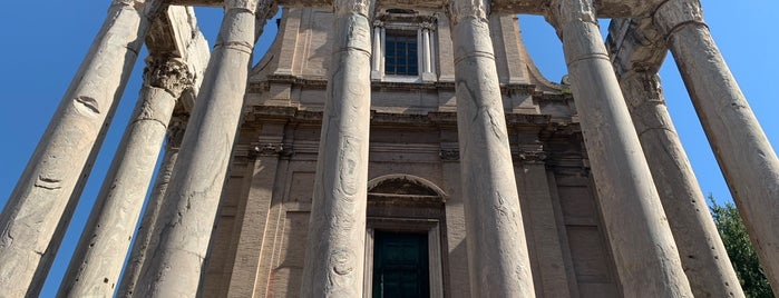 Temple of Antoninus and Faustina is one of Rome.