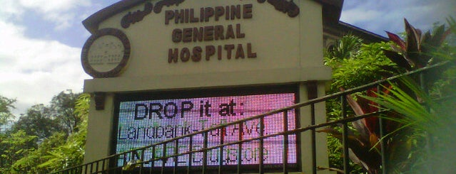 Philippine General Hospital (PGH) is one of Lieux qui ont plu à Shank.