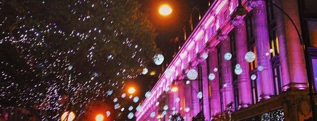 Selfridges & Co is one of London Pleasures.