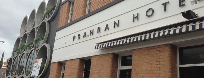 Prahran Hotel is one of friends & places.