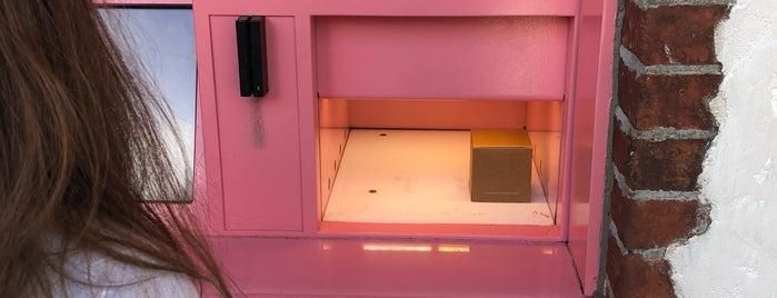 Sprinkles Cupcake ATM is one of Disney Springs.