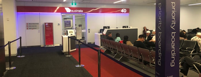 Gate 40 is one of Sydney Airport Watchlist.