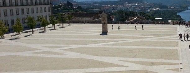 Paço das Escolas is one of Coimbra.