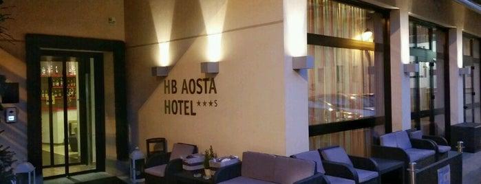 HB Aosta Hotel is one of สถานที่ที่ Roberta ถูกใจ.