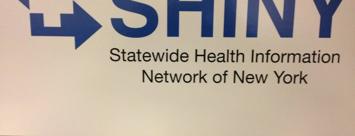 Statewide Health Information Network of NY (SHIN-NY) is one of สถานที่ที่ Carlo ถูกใจ.