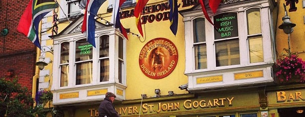 Oliver St John Gogarty is one of Top Dublin pubs.