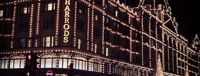 Harrods is one of England (insert something witty here).