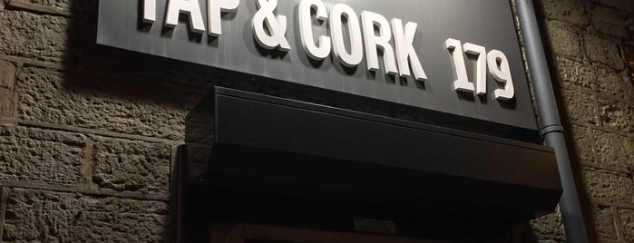 Tap & Cork is one of Locais curtidos por Carl.