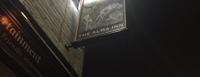 The Alma Inn is one of Required Guide Pubs.