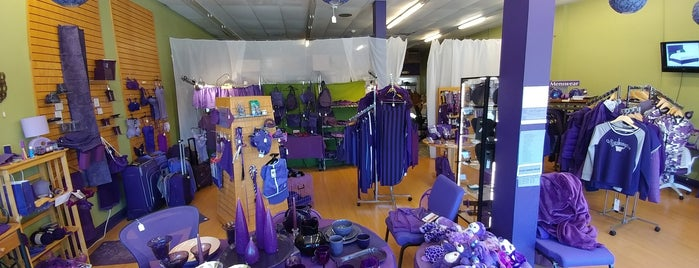 The Purple Store is one of B's Seattle.