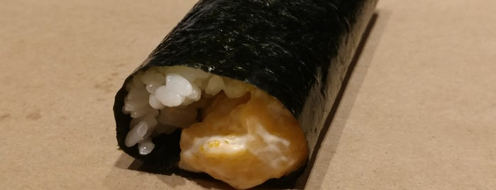 KazuNori: The Original Hand Roll Bar is one of Manhattan To-Do's (Between Houston & 34th Street).