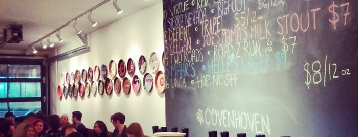 Covenhoven is one of NYC // Places to Drink.