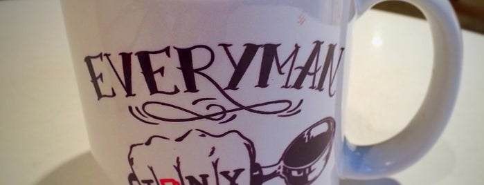 Everyman Espresso is one of jwowstreetsandeatsnyc.