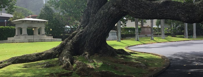 Mauna'ala (Royal Mausoleum) is one of Oahu: The Gathering Place.