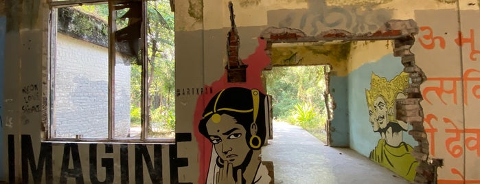 Beatles Ashram is one of INDIA.