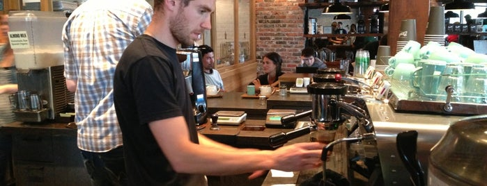 49th Parallel & Lucky's Doughnuts is one of Vancouver City Guide 2014.