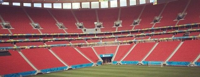 Estádio Nacional de Brasília Mané Garrincha is one of Big Matchs's Today!.