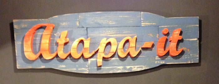 Atapa-it is one of Restaurants BCN.