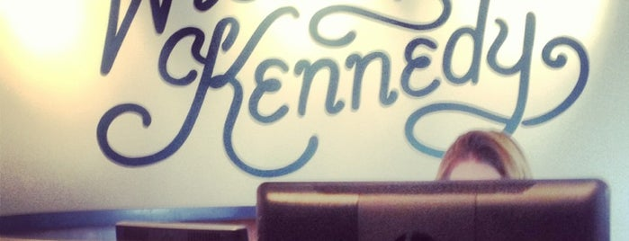 Wieden+Kennedy is one of Silicon Alley, NYC (List #2).