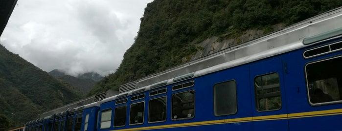 Estacion de combis a Ollantaytambo is one of A Mapi.