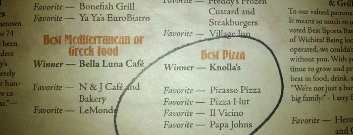 Knolla's Pizza Café is one of Restaurants I've Tried.