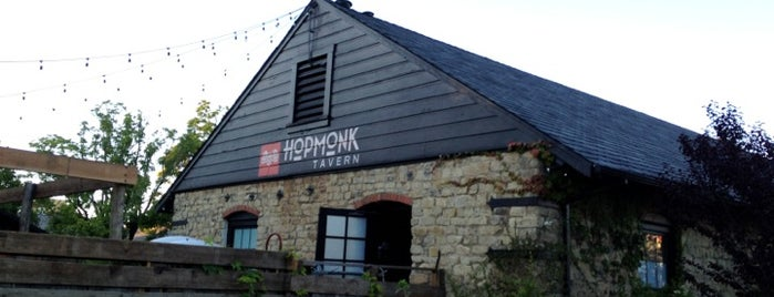 HopMonk Tavern is one of Dog friendly by night.