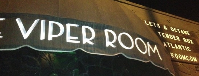 The Viper Room is one of Best Los Angeles Music Venues.
