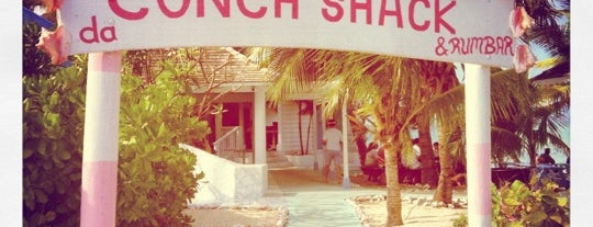 Da Conch Shack is one of Locais curtidos por Nick.
