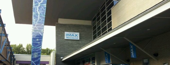 Wells Fargo IMAX Theatre at Marbles is one of Great Date Spots in Raleigh.