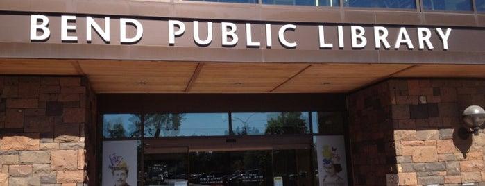 Bend Public Library is one of สถานที่ที่บันทึกไว้ของ Mike.