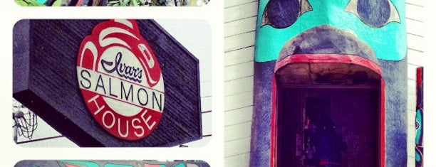 Ivar's Salmon House is one of 2012 MLA Seattle.