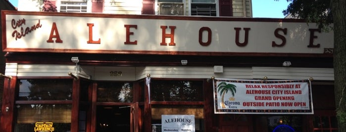 Alehouse City Island is one of Bars to check out in NYC.