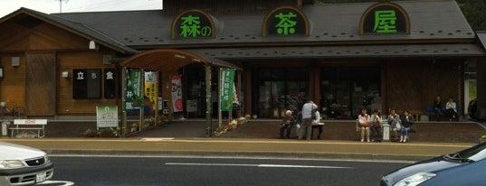 道の駅 林林館 森の茶屋 is one of Tempat yang Disukai Shigeo.