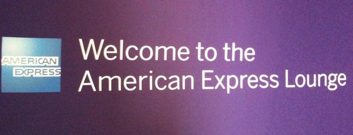 American Express Lounge is one of Orte, die Super gefallen.