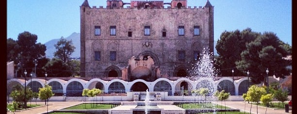 Castello della Zisa is one of SICILIA - ITALY.