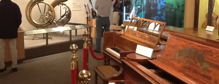 Museum of Making Music is one of Places to go....