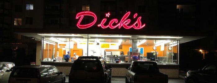 Dick's Drive-In is one of Seattle & Washington St.
