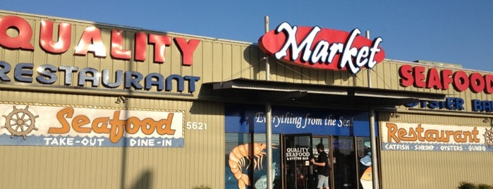 Quality Seafood Market is one of Austin: To-do's & Favs.