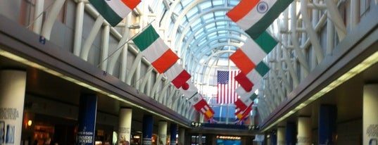 Flughafen Chicago O'Hare (ORD) is one of สนามบินนานาชาติ (1).