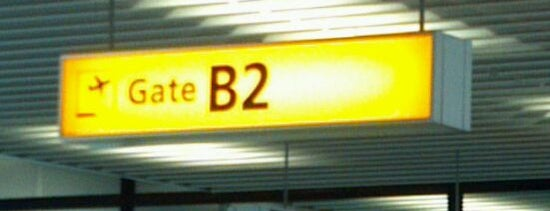 Gate B2 is one of Try again list.