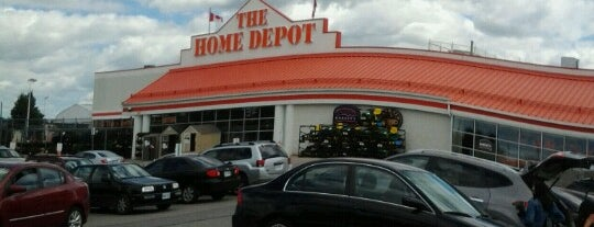 The Home Depot is one of Robert's Liked Places.