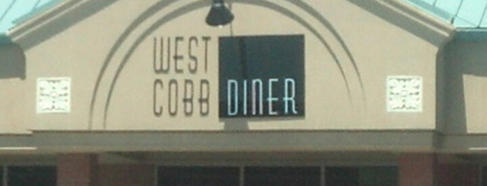 West Cobb Diner is one of Food To-Do.