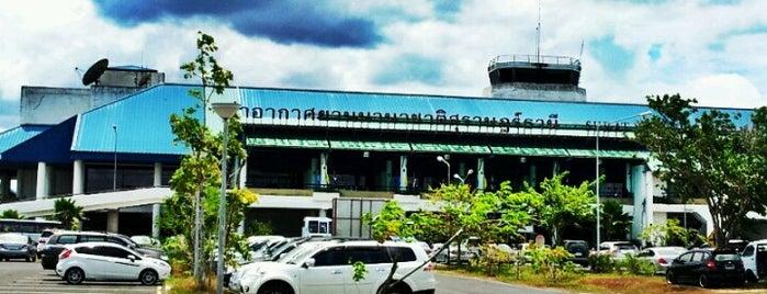 Aeropuerto de Surat Thani (URT) is one of Free WiFi Airports 2.