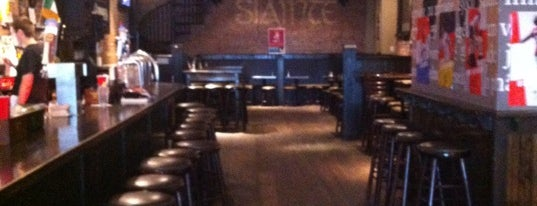 Sláinte is one of NYC Footy Bars.