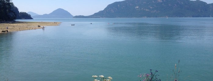 Porteau Cove Provincial Park is one of Orte, die Kristine gefallen.