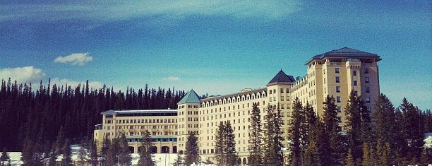 The Fairmont Chateau Lake Louise is one of Hotels of the world.