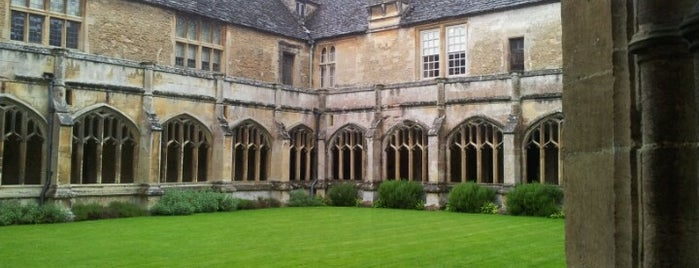Lacock Abbey, Fox Talbot Museum and Village is one of UK Film Locations.