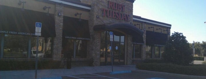 Ruby Tuesday is one of AT&T Spotlight on Tampa Bay, FL.